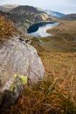 Montagne di Rila, lago Fotografia Stock Libera da Diritti