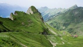 Montagne di Rothorn - Svizzera fotografia stock libera da diritti