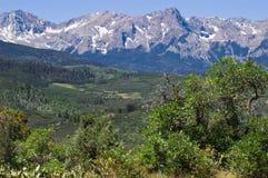 Montagne di San Juan Fotografia Stock