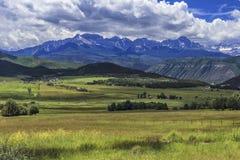 Montagne di San Juan, Colorado fotografia stock libera da diritti