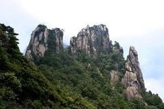 Montagne di Sanqing Immagini Stock