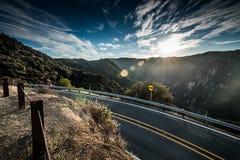 Montagne di Santa Monica Fotografie Stock Libere da Diritti