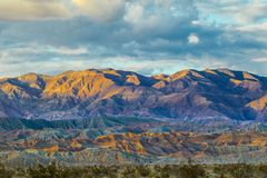 Montagne di Santa Rosa Fotografie Stock