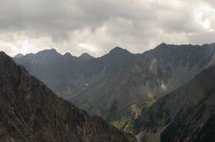 Montagne di Sayan Immagine Stock