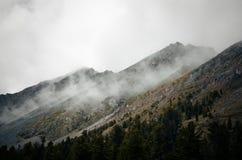 Montagne di Sayan Fotografie Stock