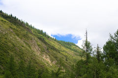 Montagne di Sayan Fotografia Stock Libera da Diritti