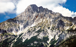 Montagne di Shtiria, Austria, ad estate Fotografie Stock Libere da Diritti