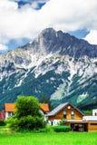 Montagne di Shtiria, Austria, ad estate Fotografie Stock