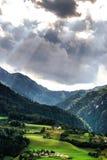 Montagne di Shtiria, Austria, ad estate Fotografia Stock