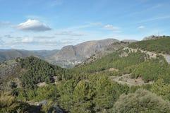 Montagne di Sierra Nevada in Spagna del sud, Immagini Stock