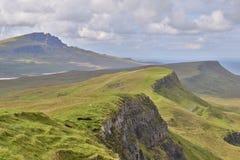 Montagne di Skye Fotografia Stock