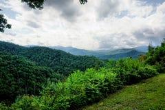 Montagne di Smokey Fotografie Stock