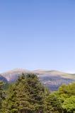 Montagne di Snowdonia lingua gallese Fotografie Stock