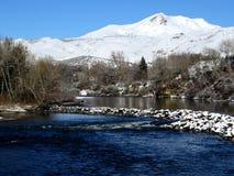 Montagne di Snowy I Fotografia Stock