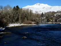 Montagne di Snowy III Fotografia Stock