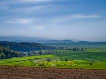 Montagne di Sudeten Fotografia Stock Libera da Diritti