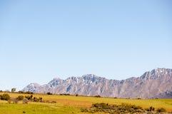 Montagne di Swartberg fotografie stock