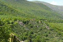 Montagne di Tatev Immagine Stock Libera da Diritti