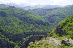 Montagne di Tatev Fotografia Stock