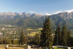 Montagne di Tatra Immagini Stock Libere da Diritti