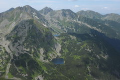 Montagne di Tatra Fotografie Stock