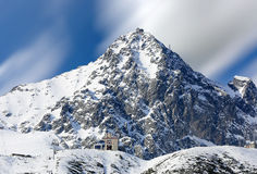 Montagne di Tatra Fotografie Stock Libere da Diritti