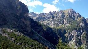 Montagne di Tatra Fotografia Stock