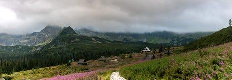 Montagne di Tatra in Polonia in Europa fotografia stock