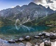 Montagne di Tatra in Polonia in Europa Fotografie Stock
