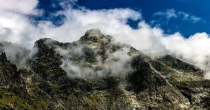 Montagne di Tatra in Polonia in Europa immagini stock libere da diritti