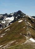 Montagne di Tatra in Polonia, vicino alla città Zakopane Fotografia Stock Libera da Diritti