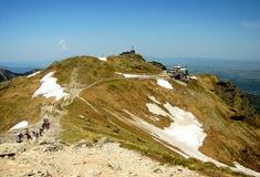 Montagne di Tatra in Polonia, vicino alla città Zakopane Immagini Stock Libere da Diritti