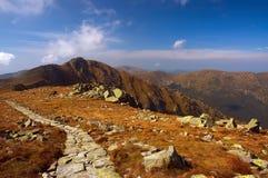 Montagne di Tatra slovacche Fotografia Stock Libera da Diritti