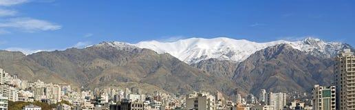 Montagne di Tehran Fotografia Stock