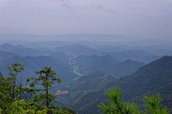 Montagne di Tian Mu immagine stock libera da diritti