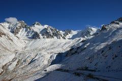 Montagne di Tian Shen in Kazakhstan Immagine Stock