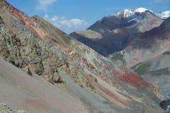 Montagne di Tien Shan - Asia Immagini Stock Libere da Diritti