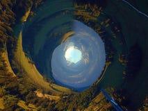 Montagne di turbine fotografie stock