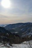 Montagne di Ural Immagine Stock Libera da Diritti