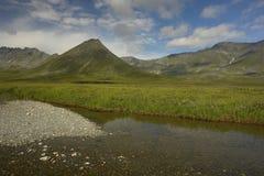 Montagne di Ural polari Fotografia Stock