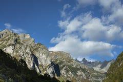 Montagne di Val di Mello fotografie stock libere da diritti