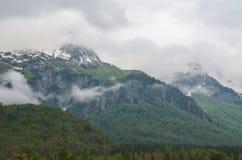 Montagne di Valbona in Albania Immagine Stock Libera da Diritti
