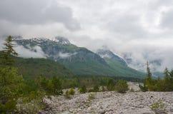 Montagne di Valbona in Albania Immagini Stock Libere da Diritti