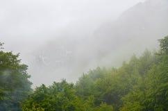Montagne di Valbona in Albania Fotografia Stock Libera da Diritti
