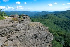 Montagne di Vihorlat Immagini Stock
