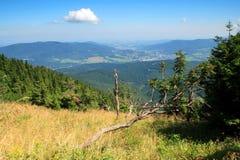 montagne di vista Fotografie Stock Libere da Diritti