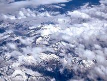 Montagne di vista aerea Immagini Stock Libere da Diritti