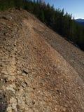 Montagne di Vrancea di geologia Immagine Stock Libera da Diritti