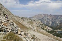 Montagne di Wasatch Immagini Stock Libere da Diritti