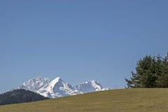 Montagne di Weatherstone in primavera Fotografia Stock Libera da Diritti